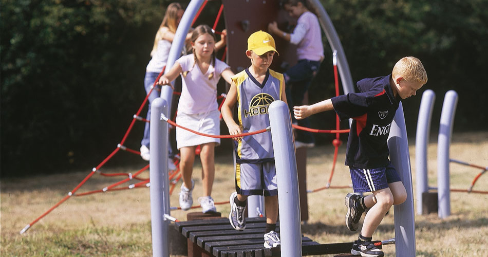 HAGS steel trail play system